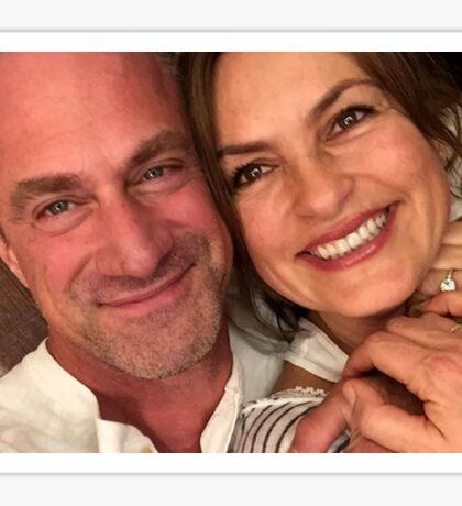 Benson/Stabler Reunion Selfie Sticker