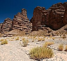 erosion landscape, Andes by travel4pictures
