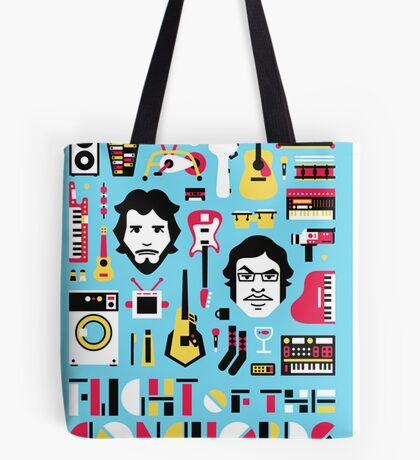 Flight of the Conchords Tote Bag