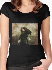Anna and the Storm Women's Fitted Scoop T-Shirt