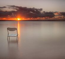 The Chair with the View - Cleveland Qld Australia by Beth  Wode