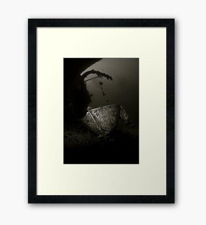 Cedar Pride Wreck Framed Print