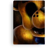 Golden Freddy Canvas Print