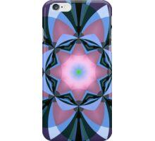 Pink heart flower iPhone Case/Skin