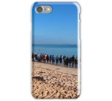 Shark Bay - Dolphin watching at Monkey Mia iPhone Case/Skin