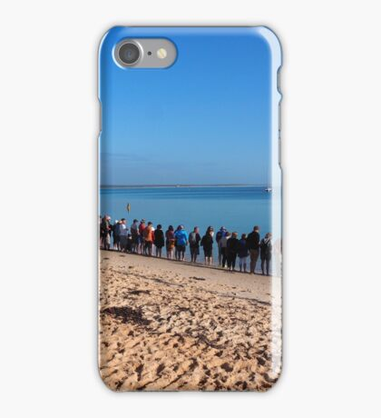 Shark Bay - Dolphin watching at Monkey Mia iPhone Case/Skin