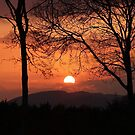 Sunset over Exmoor - The British West Country by Rivendell7