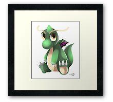 Shiny Dragonite Framed Print