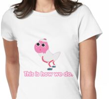 Icecream Twerk  Womens Fitted T-Shirt