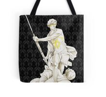 Sherlock+John - Statue of heavenliness Tote Bag