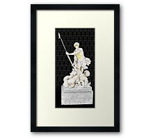 Sherlock+John - Statue of heavenliness Framed Print