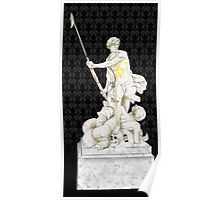 Sherlock+John - Statue of heavenliness Poster