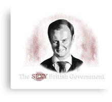 Sexy British Governmant  Canvas Print