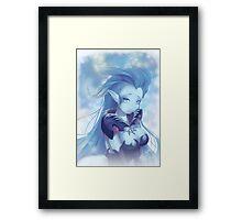 Shiva Ice Queen Framed Print