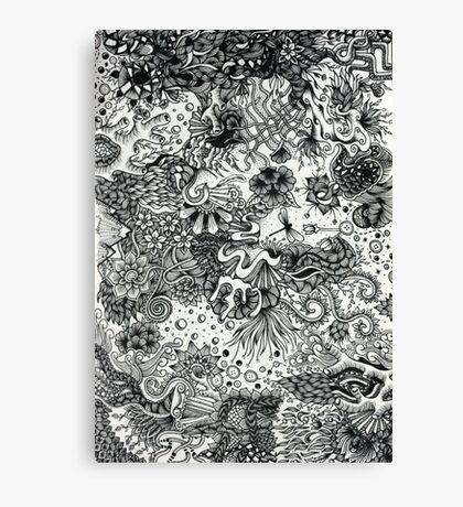 Ocean Coral Canvas Print