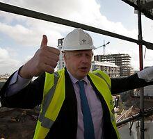 Boris Johnson by Keith Larby