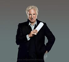 Alan Rickman by Clarice82