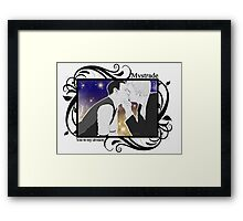 Mystrade - You're my division! Framed Print