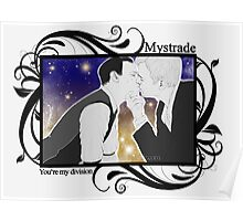 Mystrade - You're my division! Poster