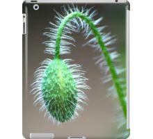 Poppy Bud iPad Case/Skin