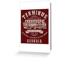 Terminus Sanctuary Community (light) Greeting Card