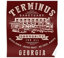 Terminus Sanctuary Community (light) Poster