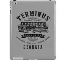 Terminus Sanctuary Community (dark) iPad Case/Skin