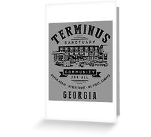 Terminus Sanctuary Community (dark) Greeting Card