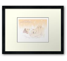 Mystrade - My darling Teddybear Framed Print