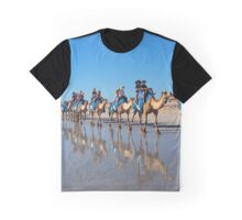 Broome - Camels on Cable Beach Graphic T-Shirt