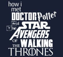 How I met Doctor Potter and the Star Avengers of the Walking Thrones (Light) by Frans Hoorn