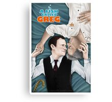 Mystrade - A Fish called Greg Canvas Print