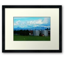 Majesty & Industry Framed Print