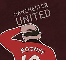 Phone Case Wayne Rooney by MandNdesign