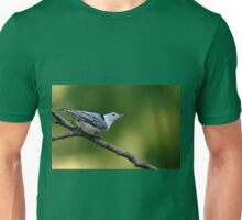 White Breasted Nuthatch Unisex T-Shirt