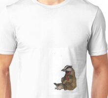 Badger with a Badge Unisex T-Shirt