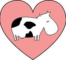 Cow Love by vegangoodies