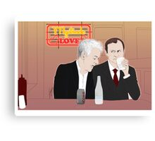 Mystrade - In the Diner Canvas Print