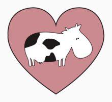 Cow Love Kids Clothes