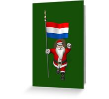 Santa Claus Visiting The Netherlands Greeting Card