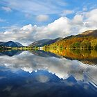 Shades of autumn at Grasmere in the English Lake District by Martin Lawrence