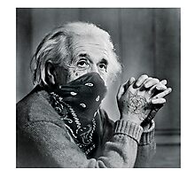 The Real Einstein  Photographic Print