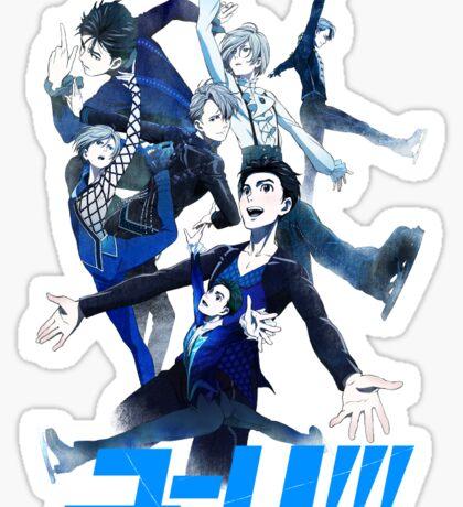 Yuri!!! On Ice Sticker