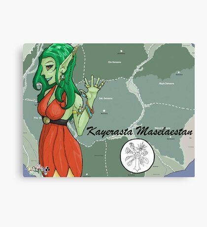 Kayerasta Masalaestan - Forest Elf Canvas Print