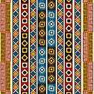 Tribal  Aztek pattern by Richard Laschon