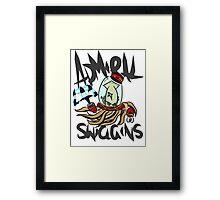 Admiral Swiggins Framed Print