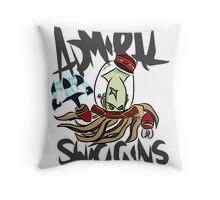 Admiral Swiggins Throw Pillow
