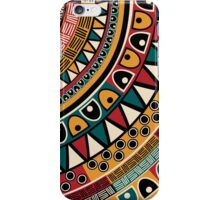 Tribal ethnic background iPhone Case/Skin