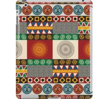 Seamless mayan, aztec pattern iPad Case/Skin