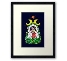 Nature of space Framed Print